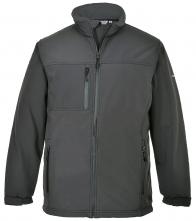 Softshellová bunda TECHNIK TK 50 šedá velikost XL