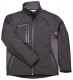Softshellová bunda TECHNIK DUO černo/šedá velikost XL