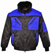 Bunda PILOT DUO odepínatelné rukávy límec a teplá vložka tmavě modrá velikost XL
