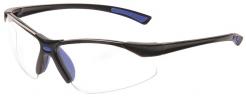 Brýle Bold PRO dvouzorníkové měkký nosní můstek sportovní rámeček čiré