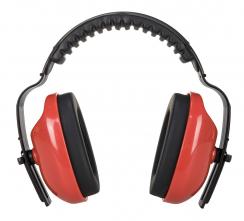 Mušlový chránič PW Classic Plus SNR 28 ABS měkké polstrování červený