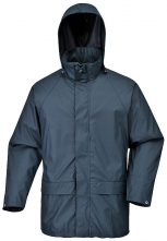 Bunda PW Sealtex™ Classic PES/PU kapuce nepromokavá zatavené švy tmavě modrá