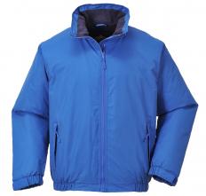 Bunda PW MORAY BOMBER PES mikrovlákno/PU podšívka fleece nepromokavá středně modrá