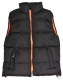 Vesta SEATTLE broušený polyester zateplená černo/oranžová velikost XL
