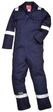 Kombinéza Bizweld BA 330g svářečská třída 1 ochrana proti plameni reflexní pruhy tmavě modrá