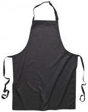 Zástěra s náprsenkou Gastro Klasik polyester/bavlna 72 x 95 cm černá