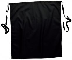 Zástěra Gastro klasik do pasu 71 x 76 cm černá