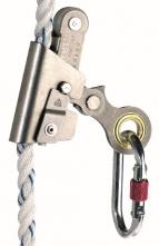 Zachycovač pádu ASCORD posuvná otevíratelná kovová lanová brzda