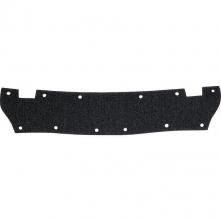 Potní pásek BASALPHA látkový s molitanem do přileb balení 10 ks černý