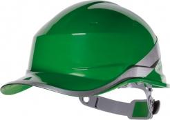 Ochranná průmyslová přilba BaseBall Diamond V reflexní pruhy zelená