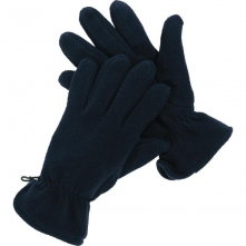 Rukavice NEVE zateplené polar fleece tmavě modré velikost univerzální
