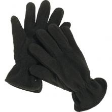 Rukavice NEVE zateplené polar fleece černé velikost univerzální