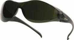 Brýle PACAYA T5 svářečské odolnost proti poškrábání tónované stupeň 5 zelené