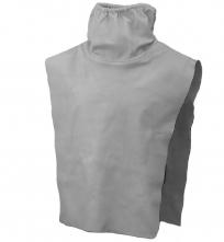 Náhradní kožená vesta ke tryskací kukle Honeywell COMMANDERII ZGH II včetně těsnění u krku šedá