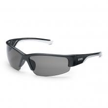 Brýle UVEX Polavision® HC/HC straničky černo/bílé ochrana proti UV 400 polarizační filtr nepoškrábatelné šedé
