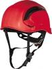 Ochranná průmyslová přilba Granite Wind ventilace lezecká račna vysoceviditelná červená