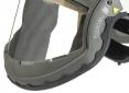 Těsnění mezi krkem a zorníkem dýchací kukly SCOTT PROCAP gumový okraj šedý