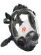 Celoobličejová maska SCOTT VISION 4000 filtr stranou silikonová černá lícnice