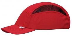 Čepice se skořepinou MODERN STYLE červená