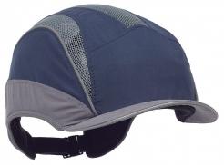 Čepice se skořepinou PROTECTOR FB3 ELITE mikrokšilt tmavě modrá/šedá
