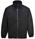 Bunda BUILDTEX™ laminovaný fleece se zapínáním na zip černá velikost XXL