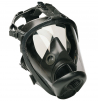 Celoobličejová maska SCOTT VISION 1000 přední připojení filtru černá silikonová lícnice