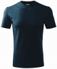 Tričko Classic 160 bavlna kulatý průkrčník trup beze švu tmavě modré