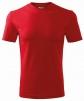 Tričko Classic 160 bavlna kulatý průkrčník trup beze švu červené