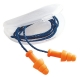 Tlumící zátky HOWARD LEIGHT SmartFit měkký plast jednotlivě balené v plastová krabičce spojené vláknem oranžové