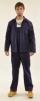 Montérkový komplet STANDARD blůza a kalhoty s laclem tmavě modrý velikost 52