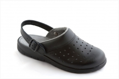 Obuv sandál dámský 231 PU tvarovaný klínek pásek přes patu velikost 41