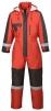 Kombinéza PW FROST Oxford Weave zateplená nepromokavá reflexní pruhy červená