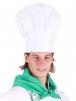 Čepice kuchařská HŘIB SPECIÁL vysoká 20 cm bílá