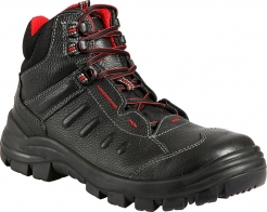 Ochranná kotníková obuv Prabos TOBIAS S3 SRC NON METALIC Snake PU/pryž černá