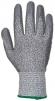 Rukavice CUTRESIST proti prořezu materiál HPPE/skelná vlákna máčené v PU šedé velikost L